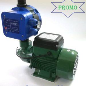Elettropompa Autoclave Periferica 0,5 HP Motore Acqua + Presscontrol 2,2 Bar