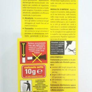 Gel Scarafaggi Blatte Bado Insetticida Pronto all'uso Anti Blatte Alta Efficacia