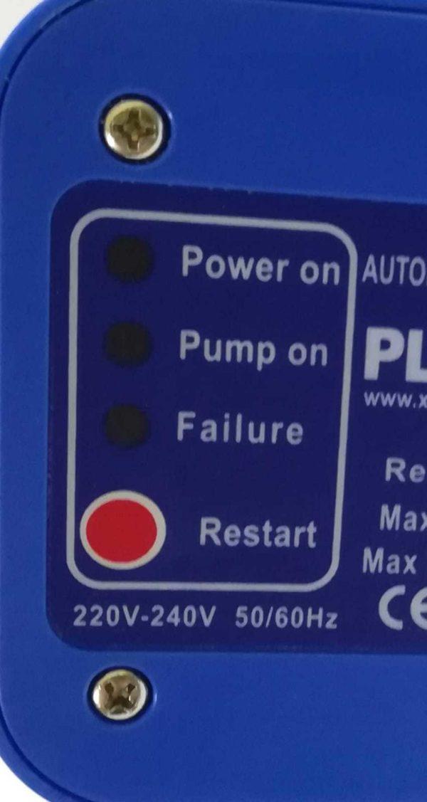 Press Control Regolatore Pressione Autoclave Pressostato Elettronico + Manometro