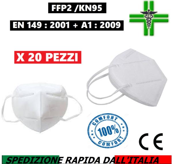 20 mascherine ffp2/kn95